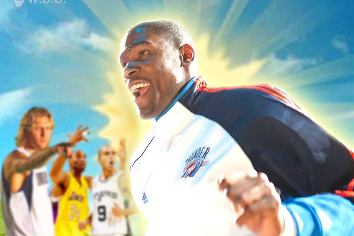 It's all sunshine and KD in OKC