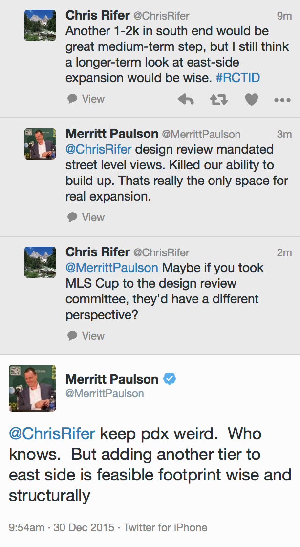 Paulson-Rifer Stadium Discussion 12/30/15