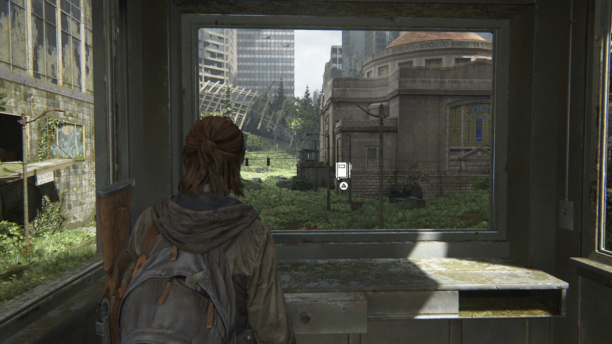 Street Drawing Journal Entry collectible The Last of Us Part 2 Seattle Day 1 (Ellie)