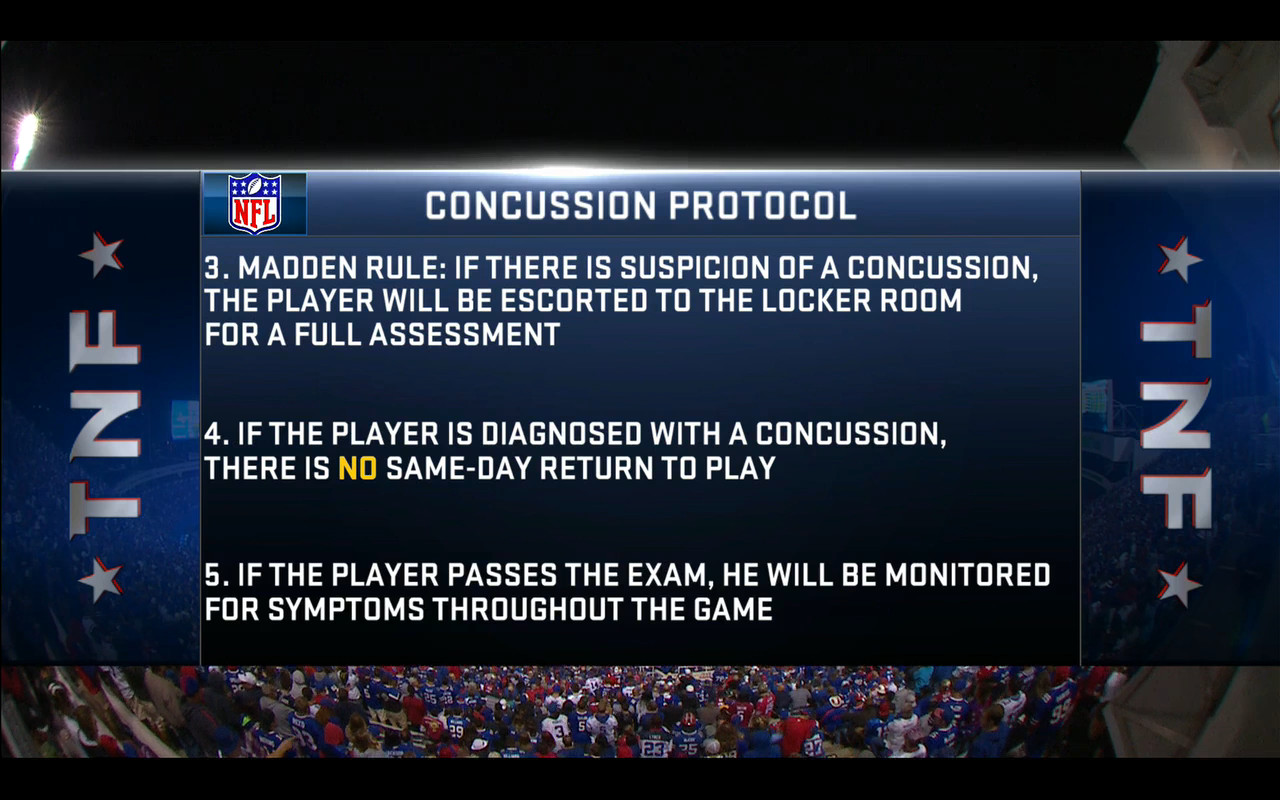 How does the NFL's concussion protocol work? - SBNation com