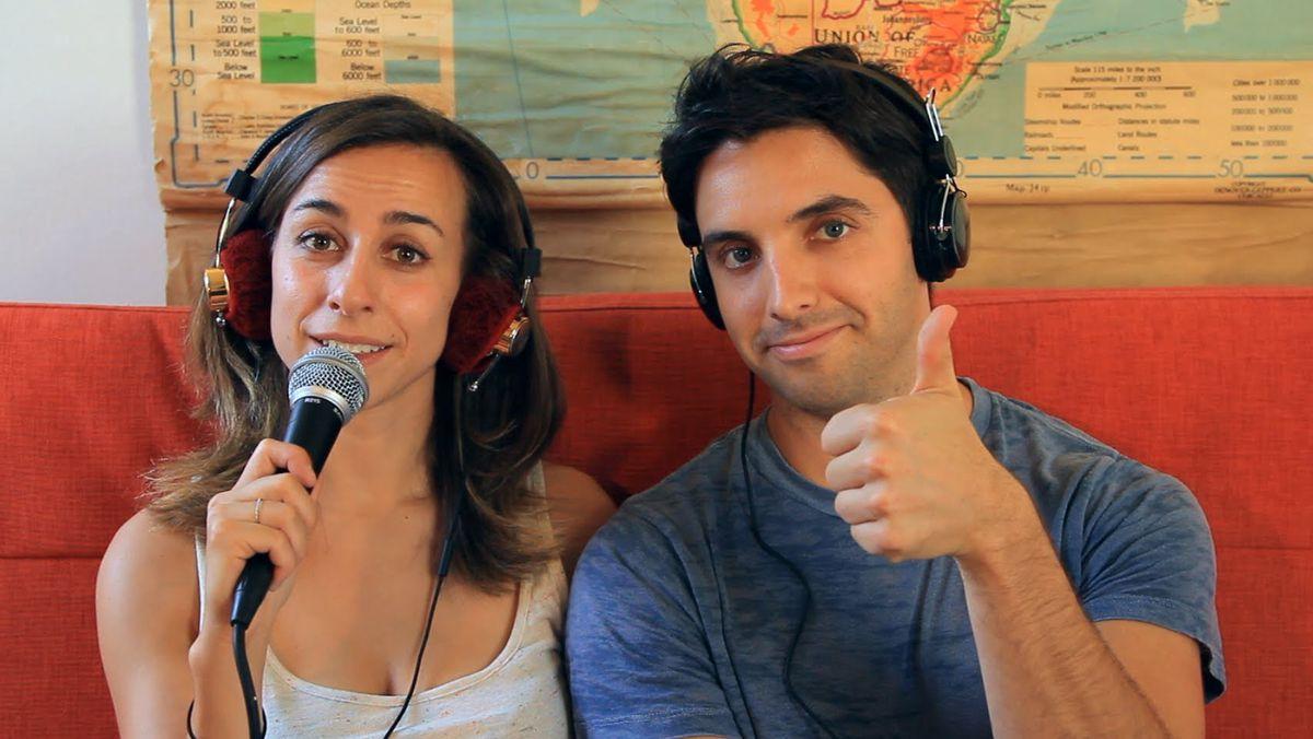 "Lucia Aniello and Paul Downs (via <a href=""https://www.youtube.com/playlist?list=PL0291A8BF4BAA755B"">'Paulilu Mixtape'</a>)"