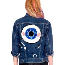 "Heath denim jacket, <a href=""http://www.jco.la/preorder/heath""target=""_blank"">$168</a>."