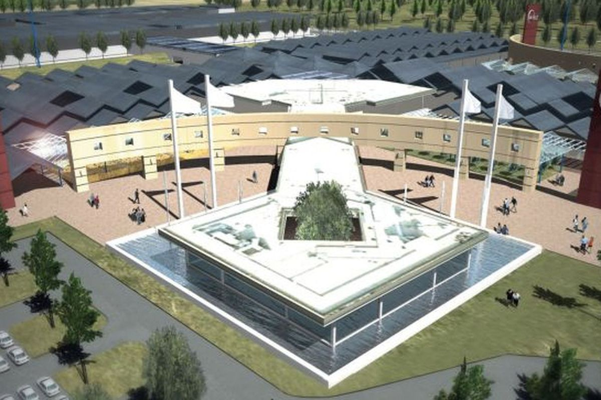 A rather unexciting rendering of Eataly World