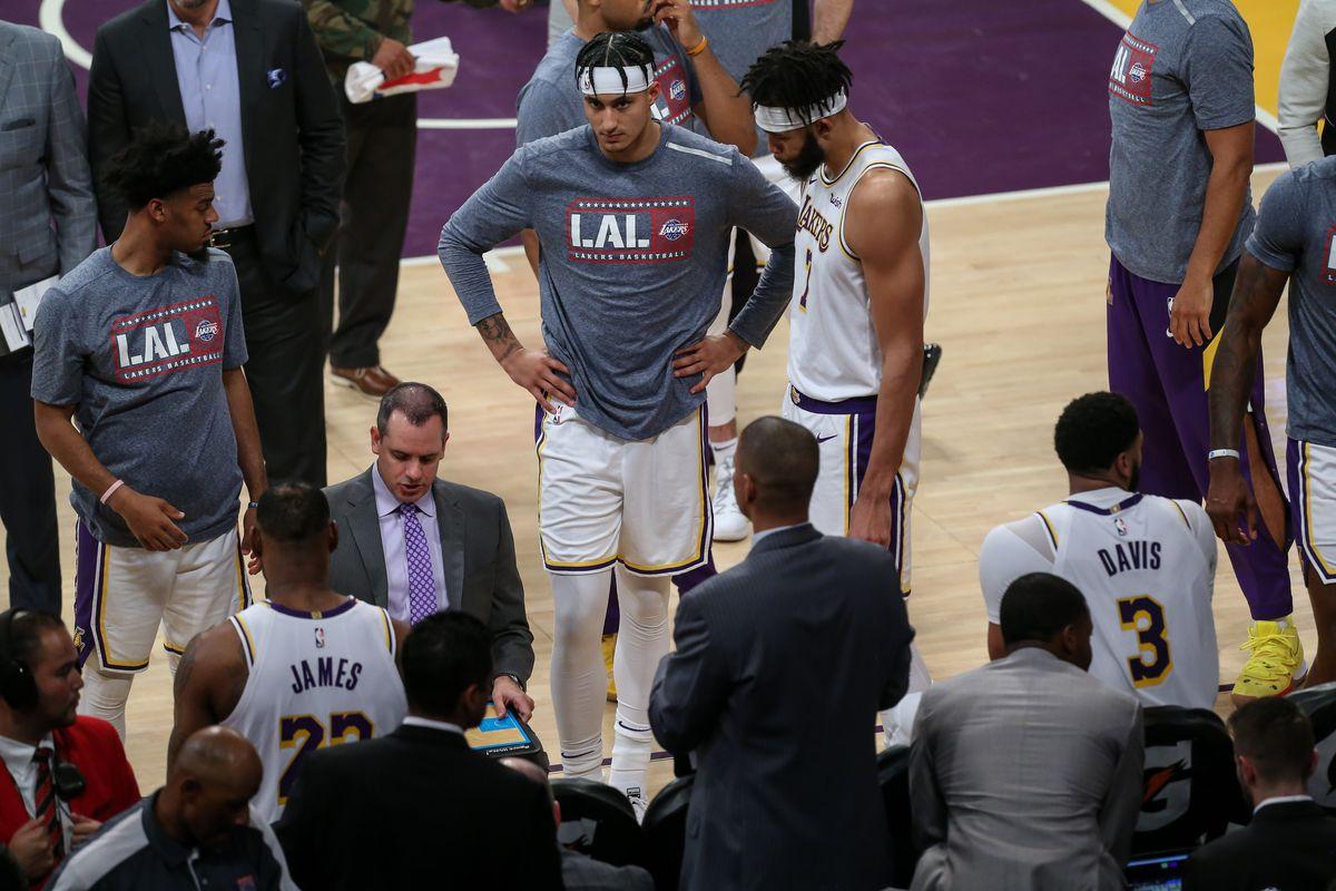 NBA: NOV 10 Raptors at Lakers