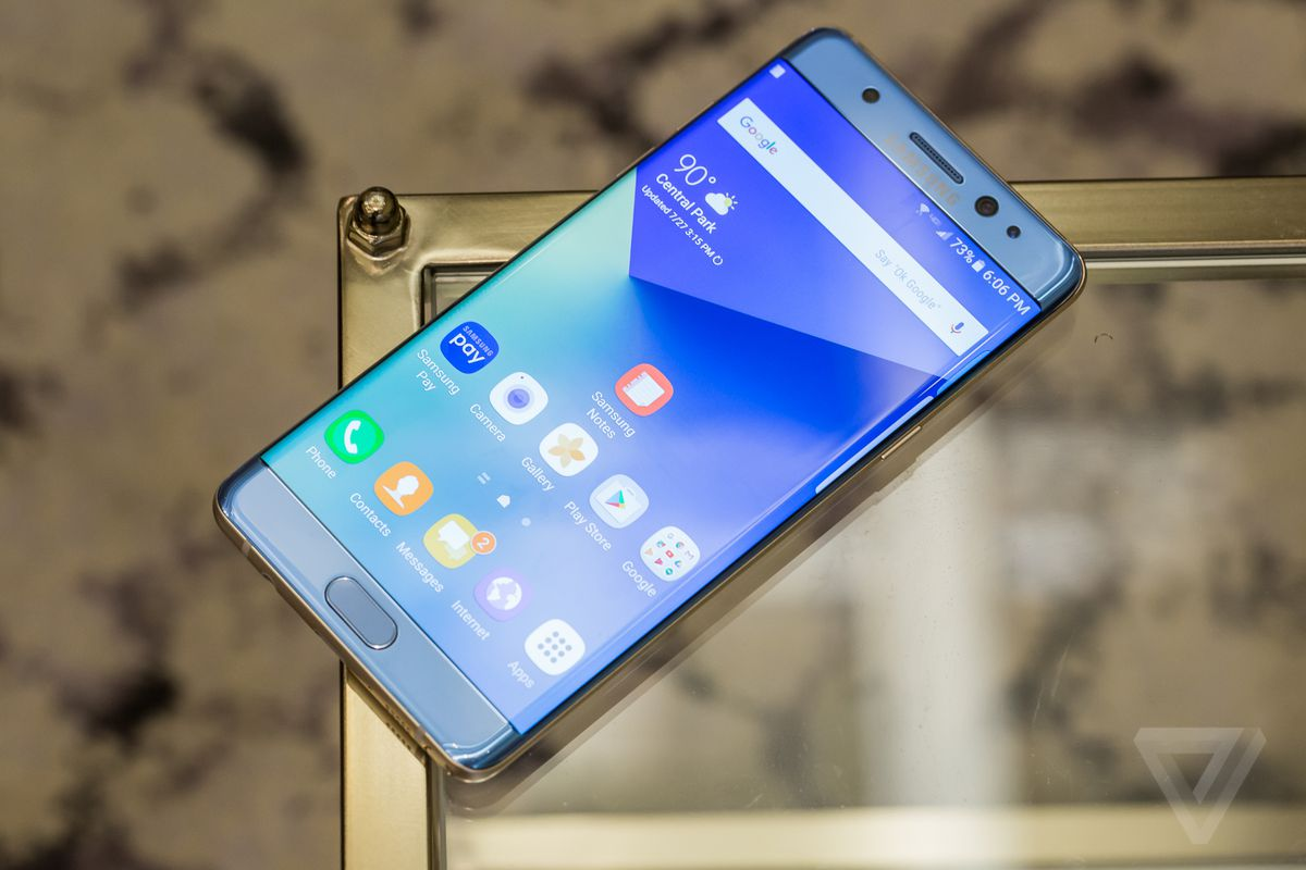 samsung note 7. Samsung Has Finally Released The Results Of Inquiry It Commissioned Into Exactly What Went Wrong With Galaxy Note 7, An Acclaimed Smartphone That 7 0