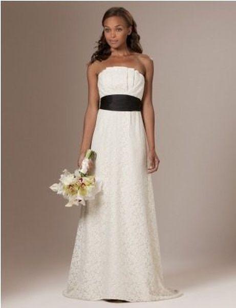 Lace Column Wedding Dress 59 99 Was 398 00