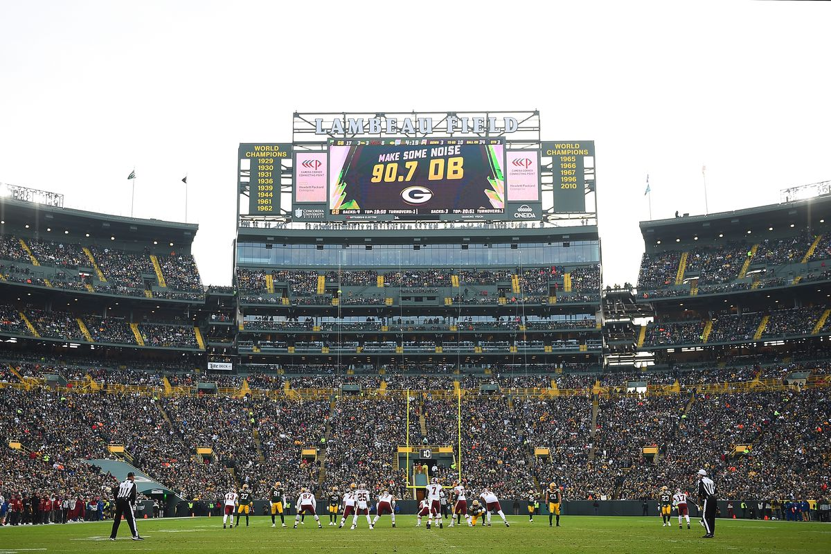 Packers Schedule 2020 No Fans For First Two Home Games Will Shake Up The Betting Line Draftkings Nation