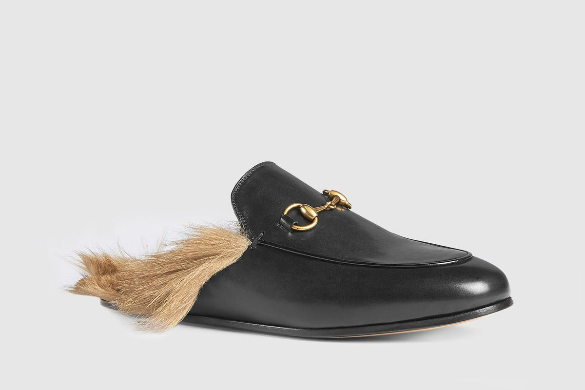 df2ea90b2f2 Those Furry Gucci Loafers Are Made With Wild Kangaroo Fur - Racked