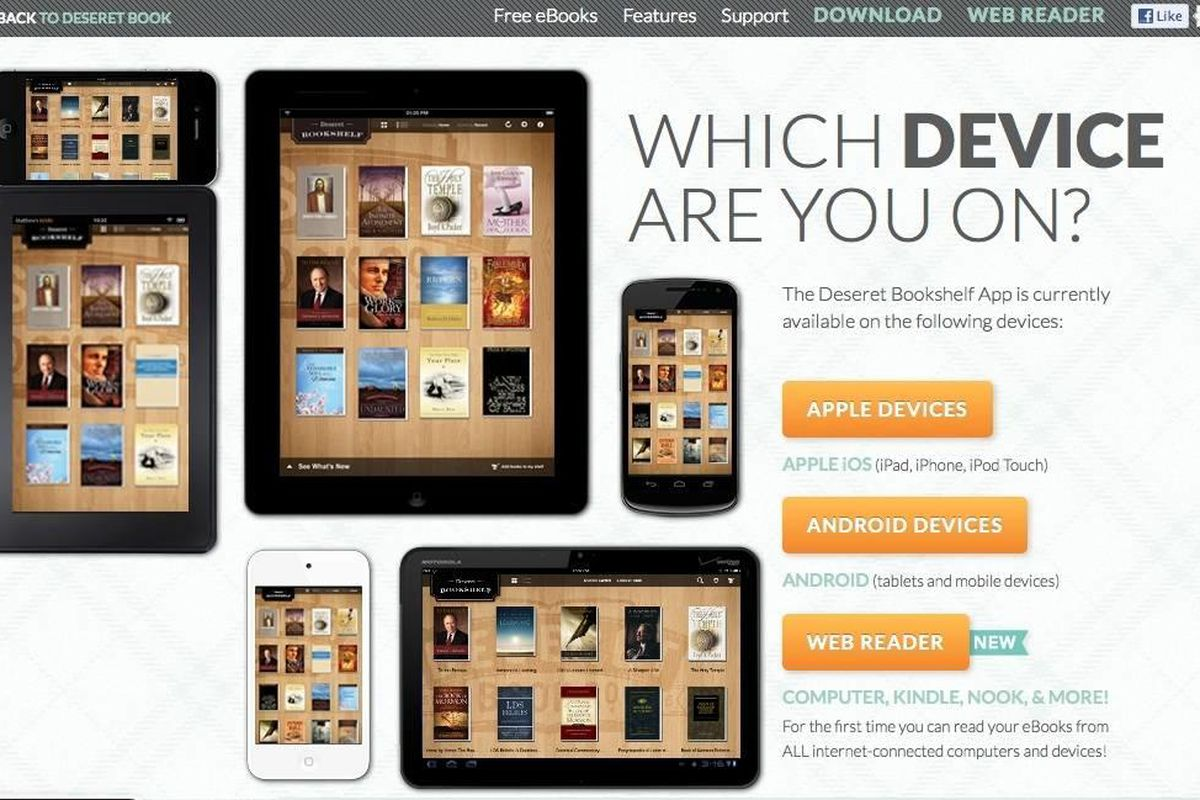 Deseret Bookshelf app allows users to access their gospel