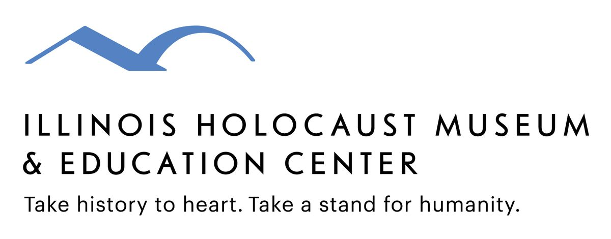 Illinois Holocaust Museum & Education Center logo and text