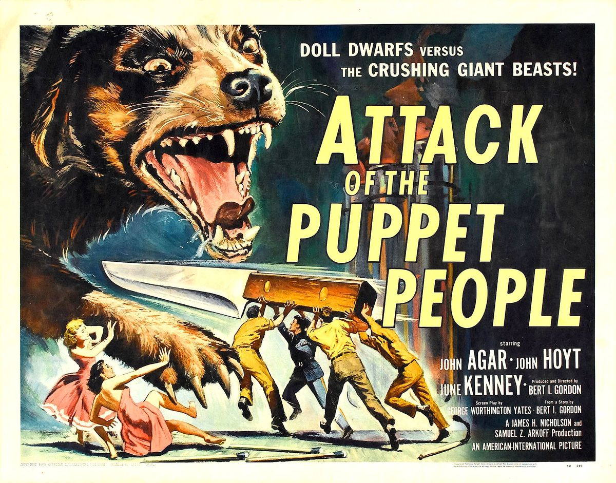 Attack of Puppet_poster