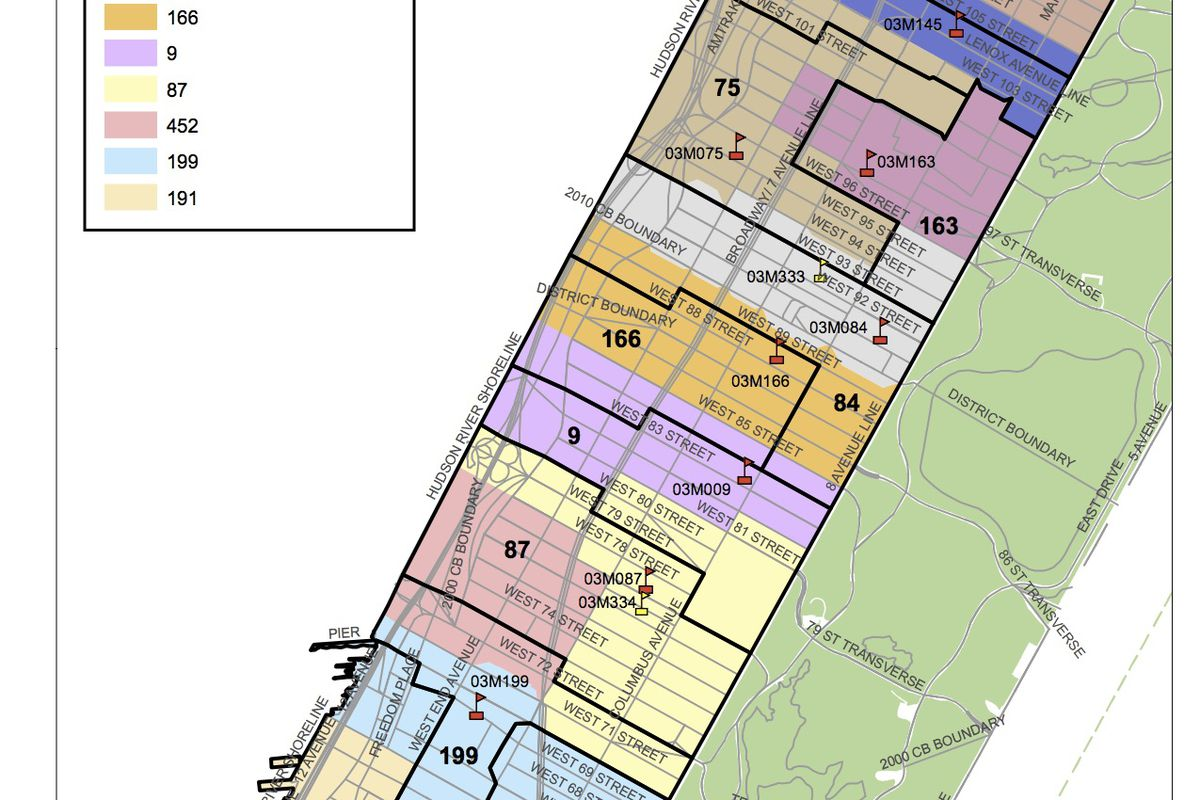 The city's final plan for rezoning District 3.