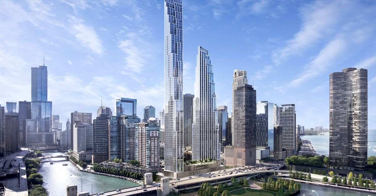 Tower Credit Union >> Chicago Spire site: From failed skyscraper to SOM-designed ...