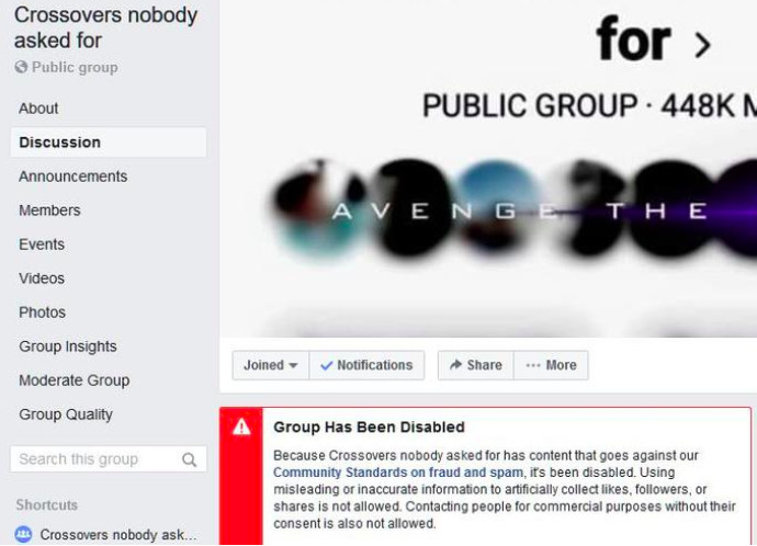 Facebook says it will restore groups infiltrated by saboteurs - The