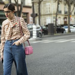 Quirky, cute chicness on the streets of Paris.