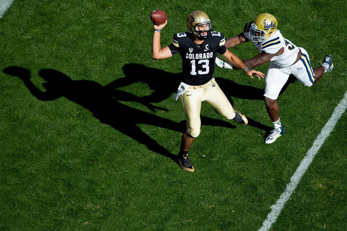 Keeping Sefo Liufau on his feet will be priority number one on Saturday.