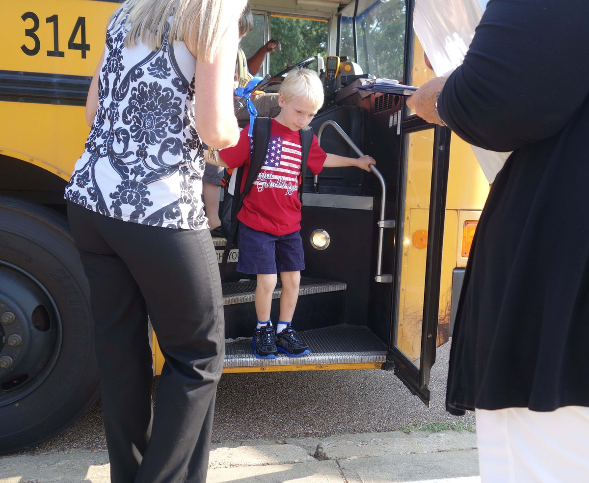 Employees documented how many students got off each bus and what time they arrived. Superintendent Ted Horrell said he hopes that they're able to consolidate the students into fewer routes