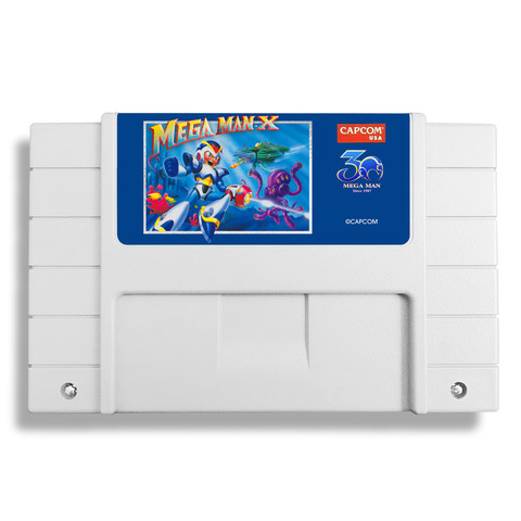 Capcom re-releasing Mega Man 2 and Mega Man X on cartridge