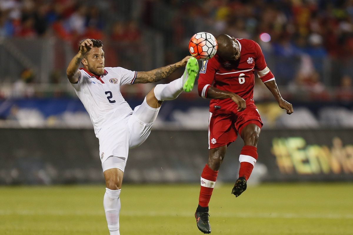 Soccer: Gold Cup-Canada at Costa Rica