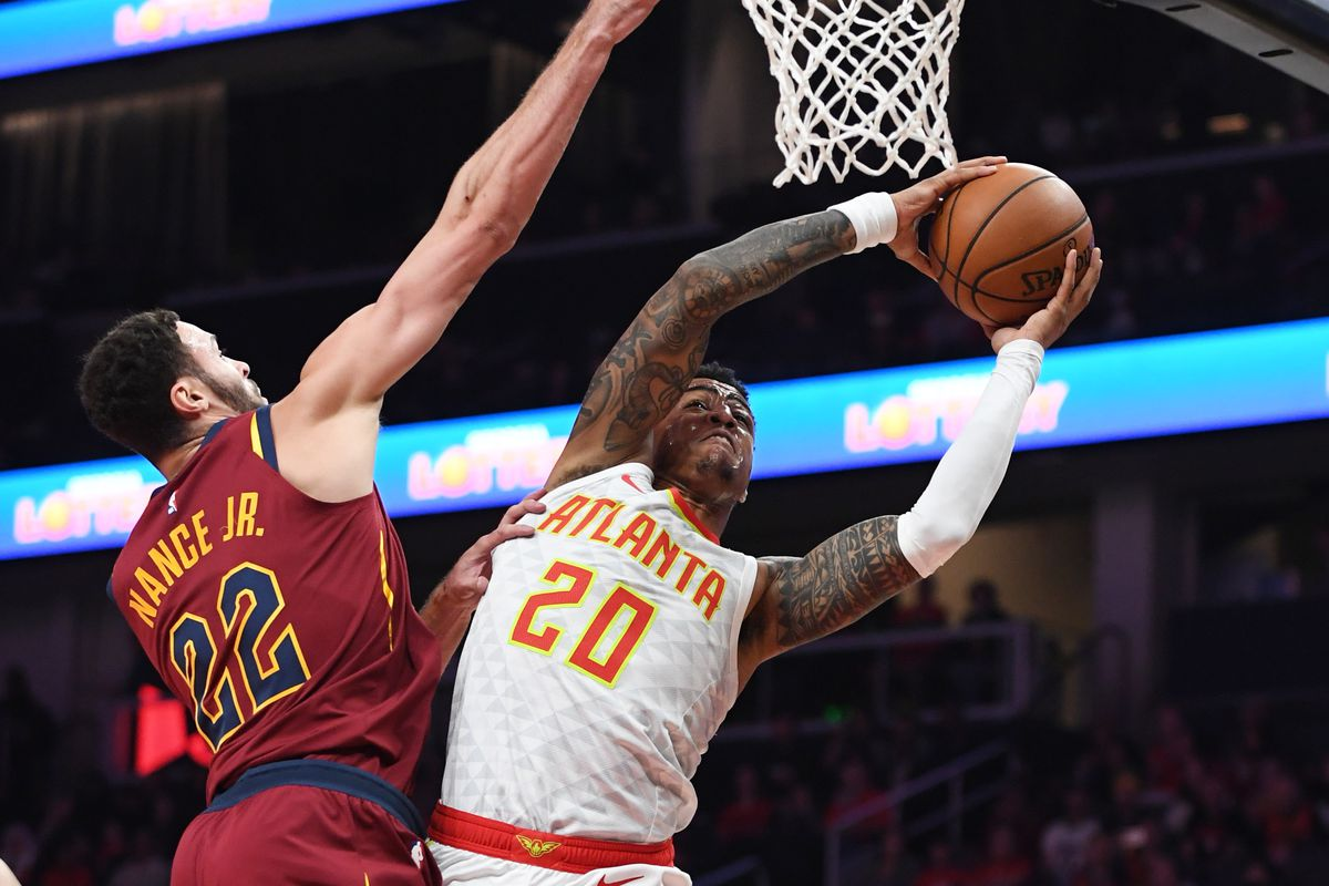 db3bbfec934 Hawks hold serve in 111-108 victory over Cavs - Peachtree Hoops
