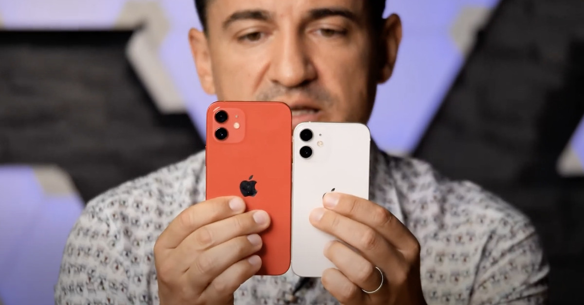 First iPhone 12 mini hands-on video shows just how tiny it is