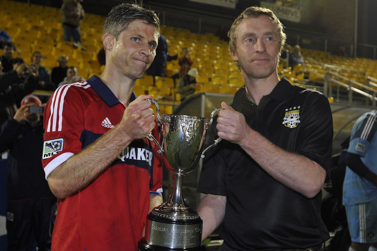 Might D.C. United hoist the Carolian Challenge Cup during this coming preseason?