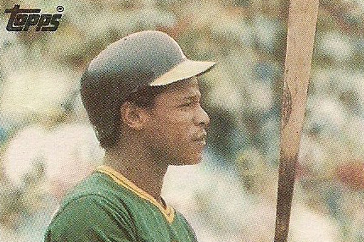 rickey thinking about being rickey