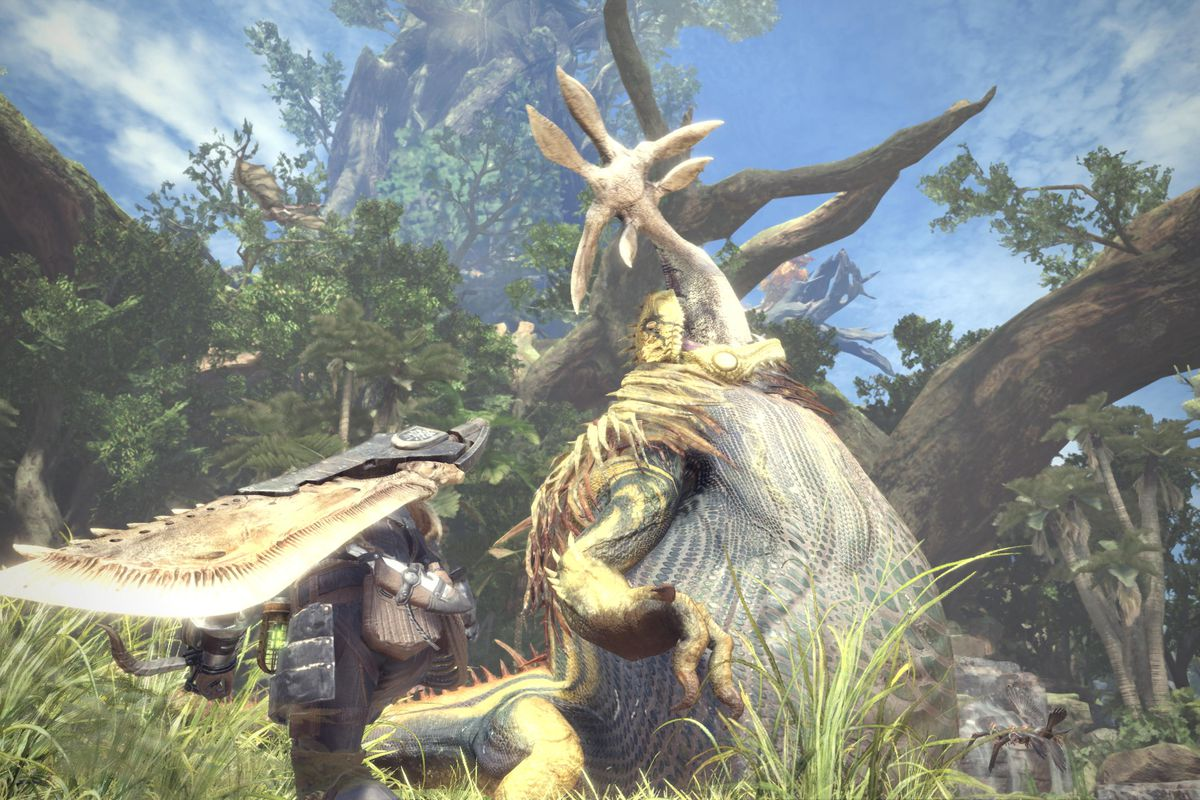 Monster Hunter World's DLC will be free