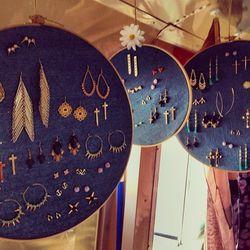 More boho-inspired jewelry.