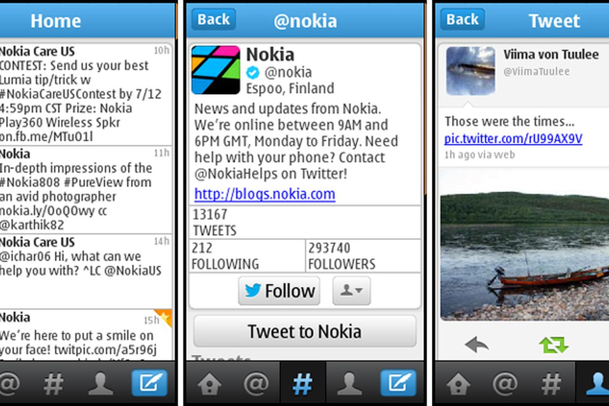 Twitter app now available for Nokia S40 phones - The Verge