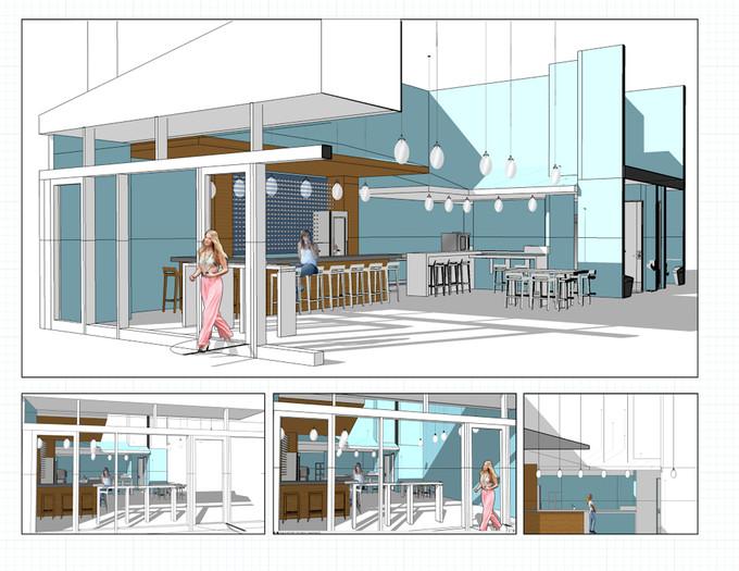 Aviary Wine & Kitchen's rendering