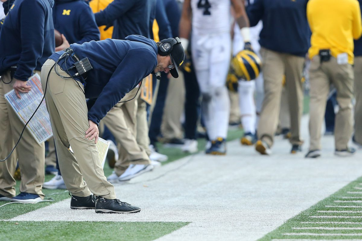 What S Next For Michigan Football Jim Harbaugh After Blowout Loss