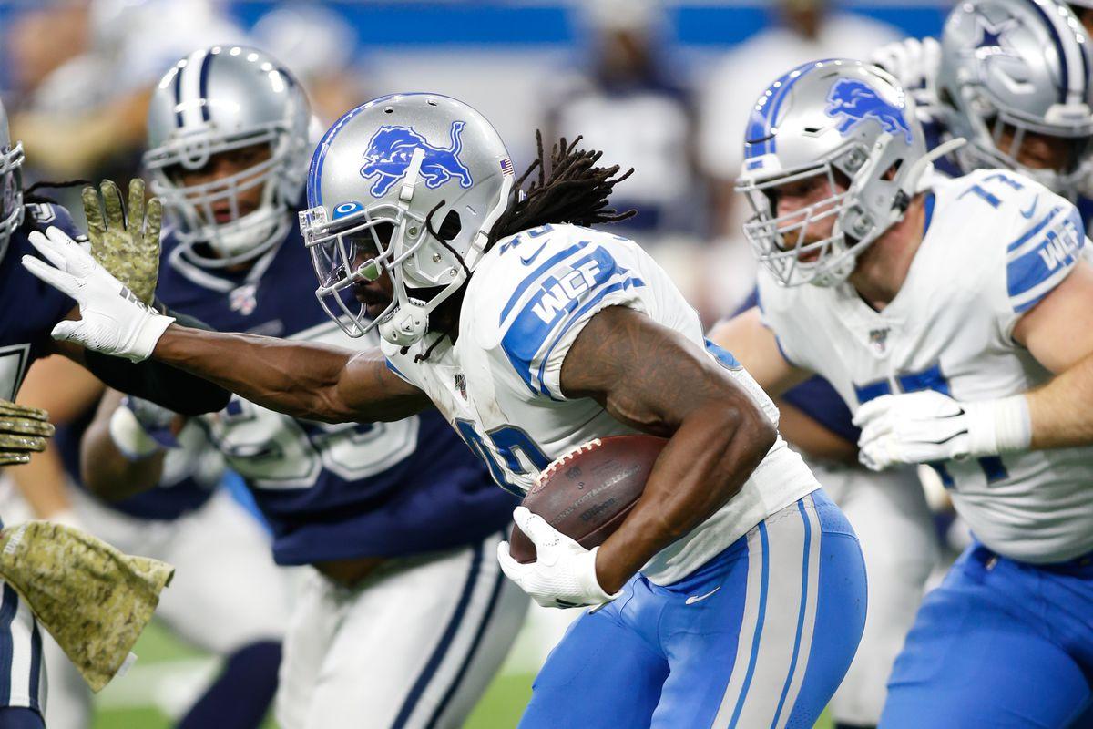 NFL: NOV 17 Cowboys at Lions