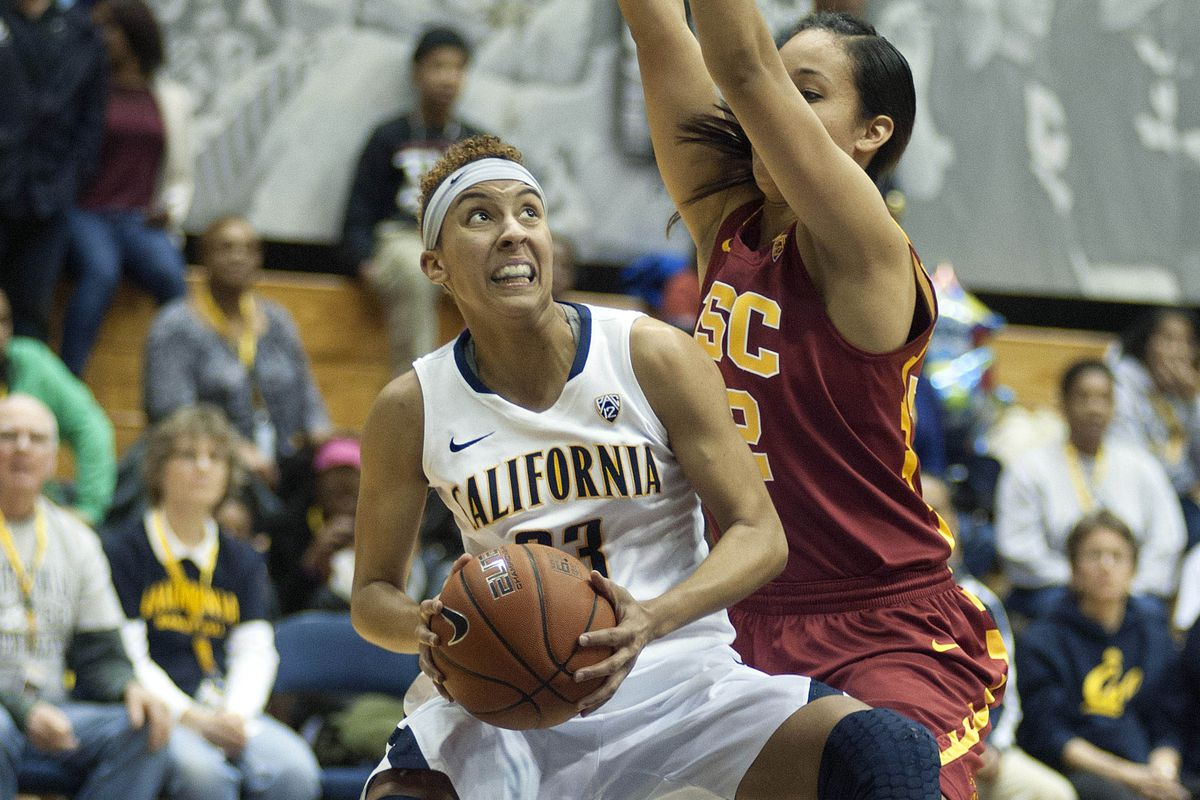 Layshia Clarendon rose to the challenge to lead Cal to a season sweep over USC.