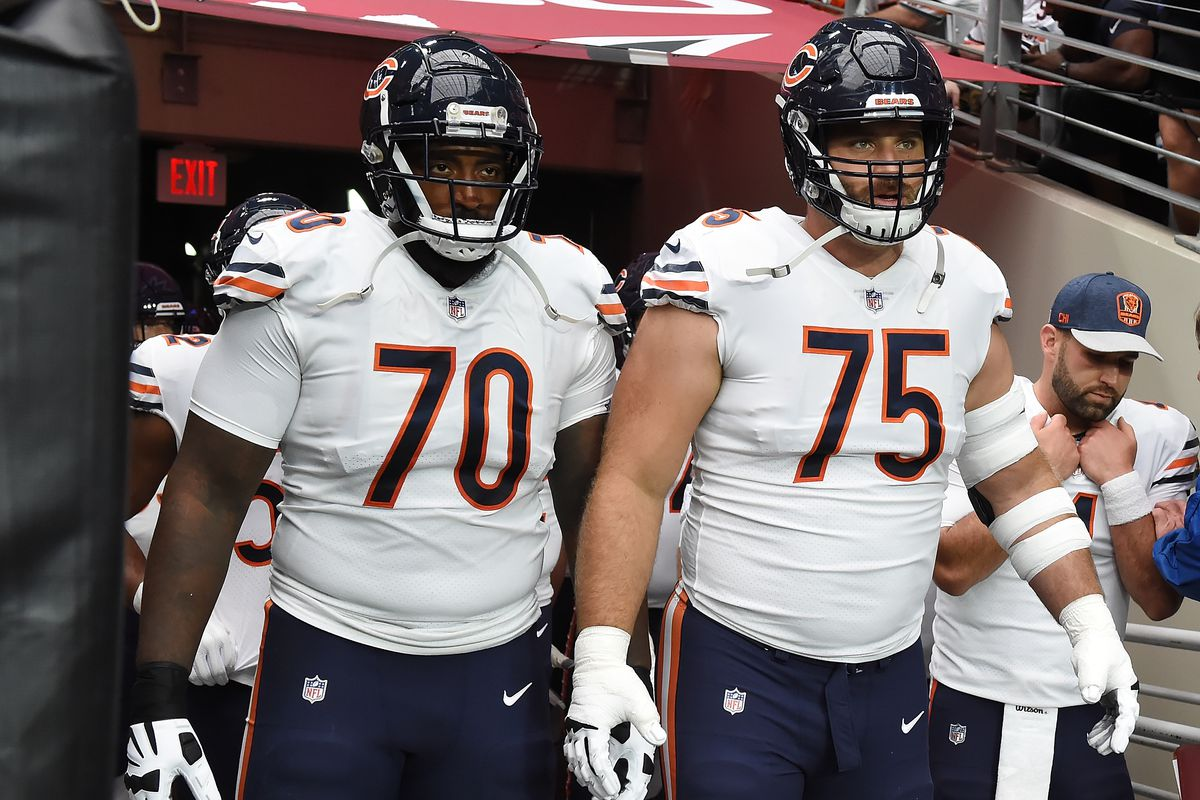 new style 3a65c 2dceb Chicago Bears 2019 Position Battles: The offensive line ...
