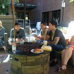 Texas chefs Paul Qui, Justin Yu, and Matt McCallister