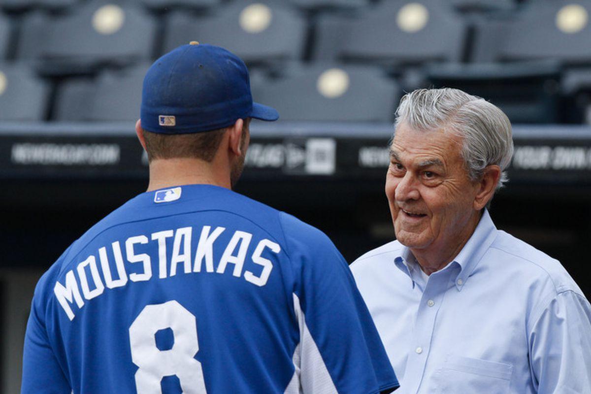The owner explains ROI to his third baseman.