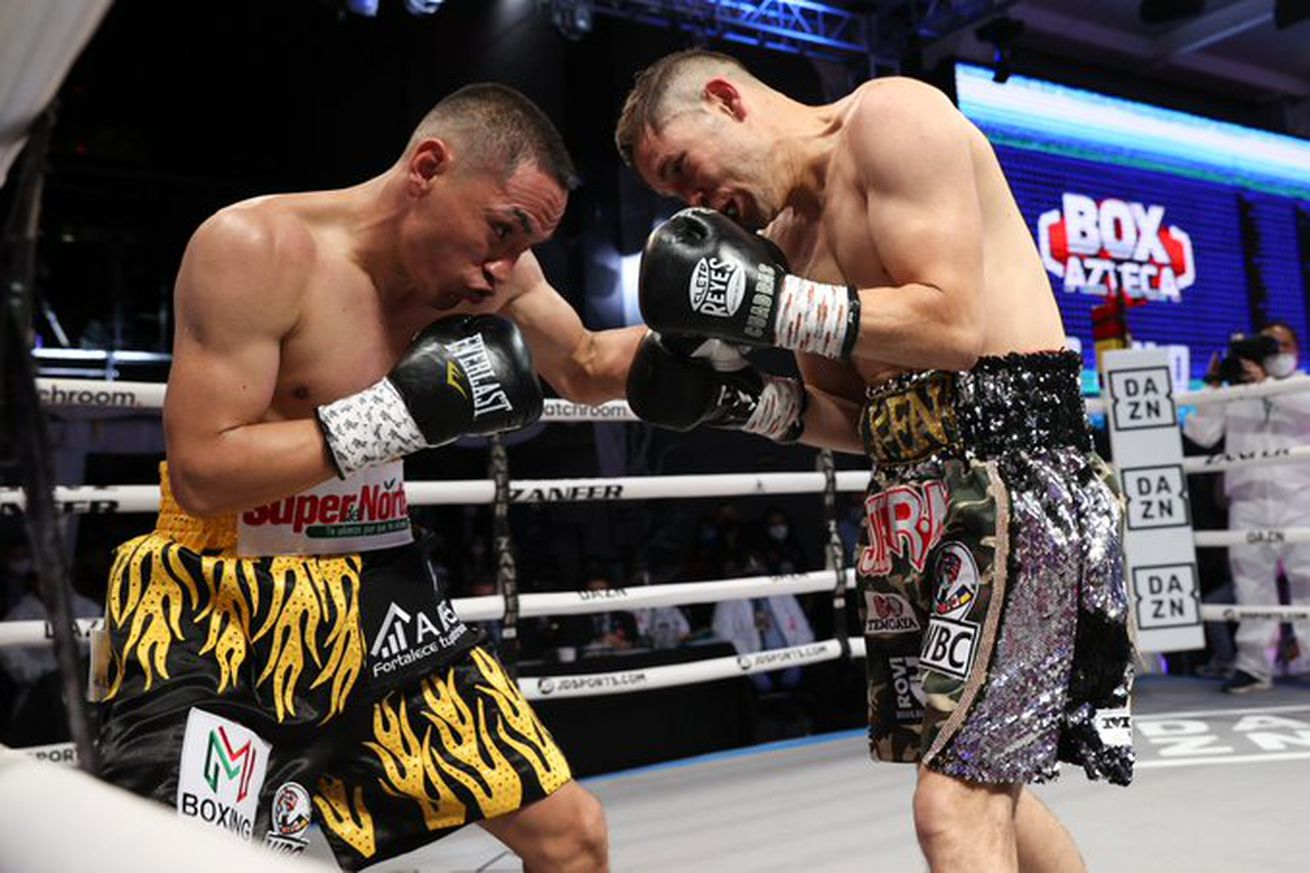 "<label><a href='http://idinterior.in/news/boxing/26705/Estrada-stops-Cuadras-in-rematch-Chocolatito-wins-?ref=headlines' class='headline_anchor news_link'>Estrada stops Cuadras in rematch, Chocolatito wins to set up rematch</a></label><br />Juan Francisco Estrada and Roman ""Chocolatito"" Gonzalez cleared the hurdles to set up a rematc"