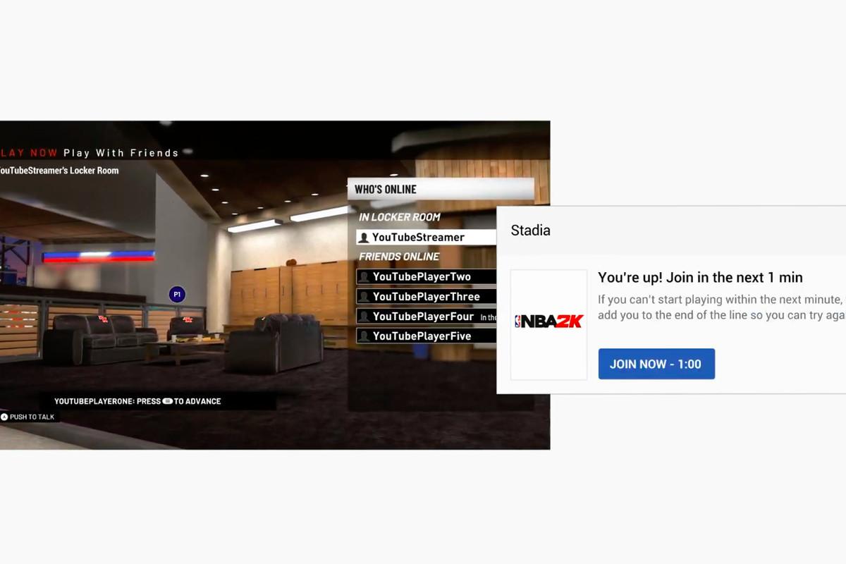 Google Stadia - Crowd Play screenshot gdc 2019