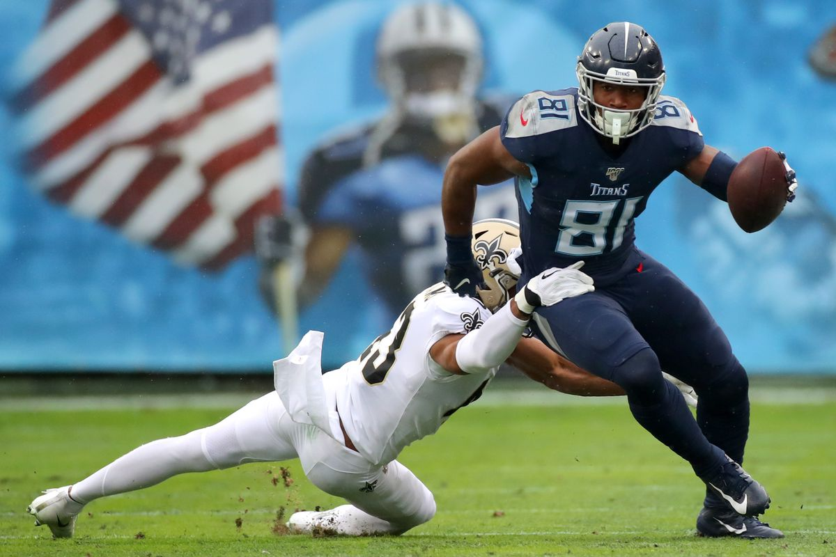 Titans tight end fantasy camp battles 2020: Jonnu Smith vs. Anthony Firkser  - DraftKings Nation