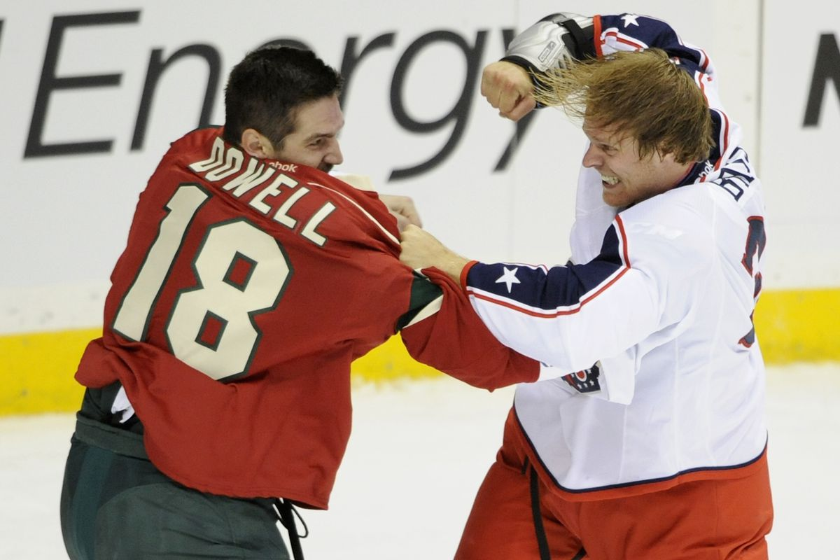 Jake Dowell is one of many veterans looking to make the Wild's roster.