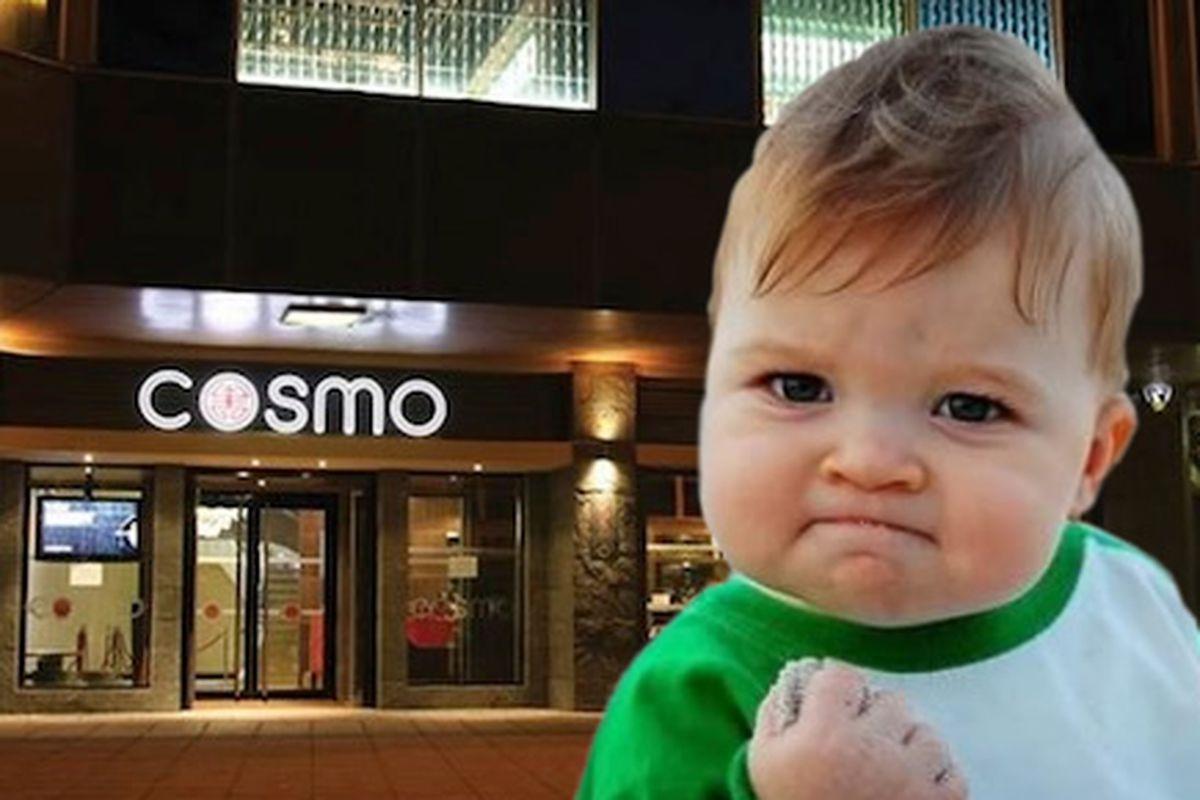 Cosmo Buffet.