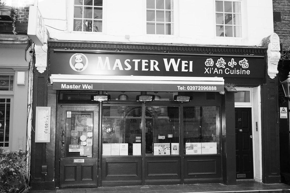 Master Wei restaurant in Bloomsbury