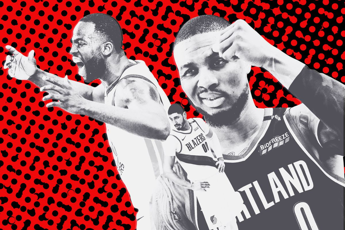 2d3b4ed9192 The Blazers Defense Wasn t Made for the Warriors - The Ringer