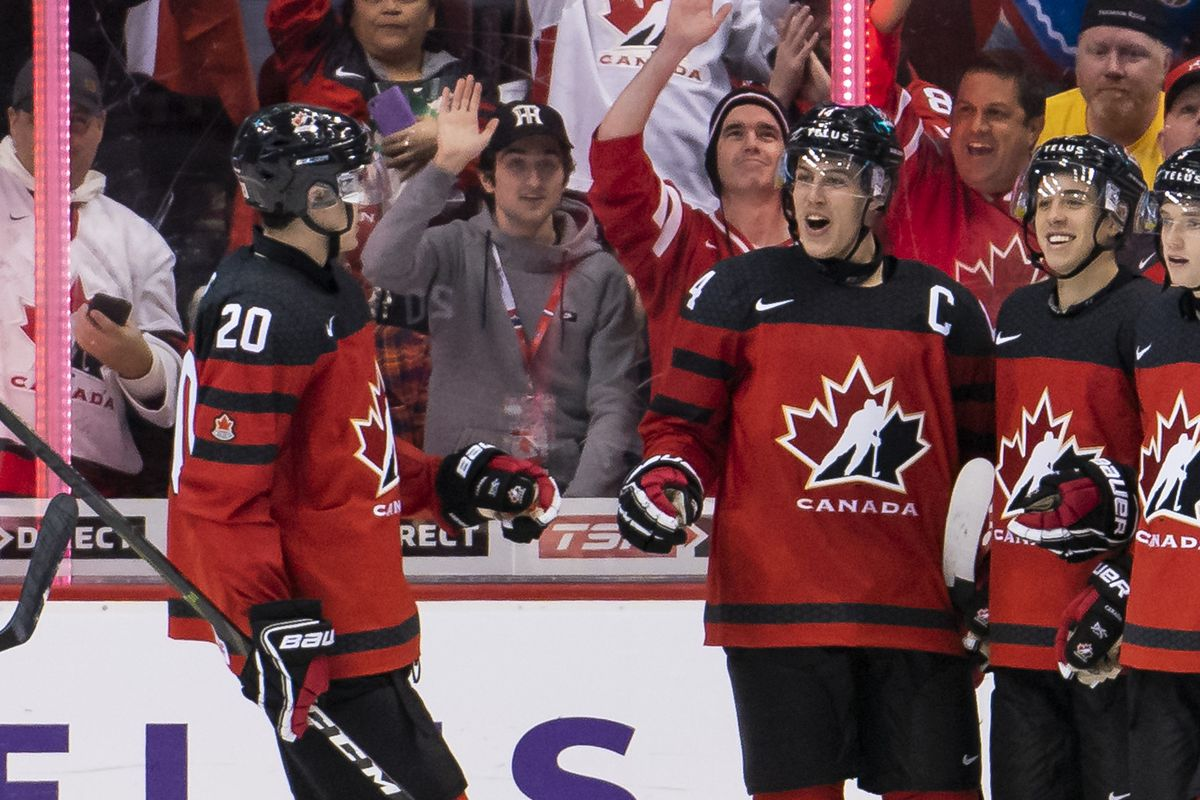 huge selection of d0648 6d2fd 2019 World Juniors Day 1 Recap - Stanley Cup of Chowder