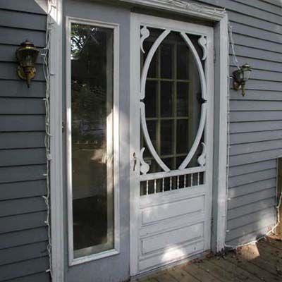 Before Staging: Front Door