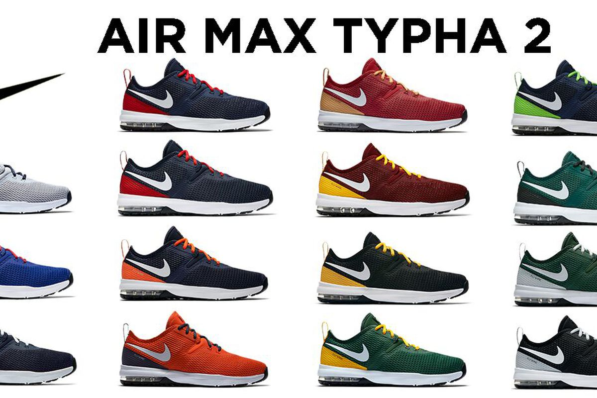 4cb74855e Nike releases new NFL-themed Air Max Typha 2 shoe collection ...