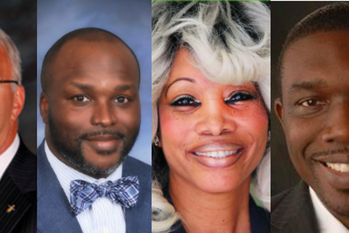 Hires from Tennessee superintendent searches in recent years, from left: Bob Thomas, Knox County Schools; Bryan Johnson, Hamilton County Schools; Sharon Griffin, Achievement School District; Shawn Joseph, Metro Nashville Public Schools.