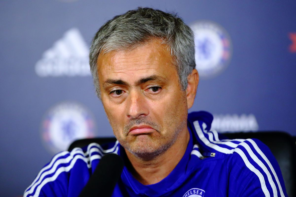 Mourinho's reaction to our predicted lineup.