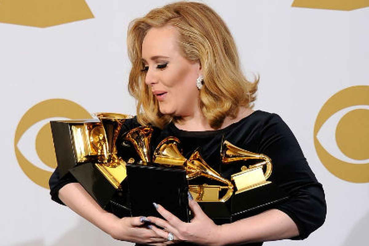 The wealthiest under 30 musician in the UK is Adele, duh. Image via Getty